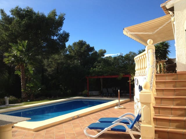 Lovely villa in Javea, 2.5km from Granadella Bay - Xàbia - House