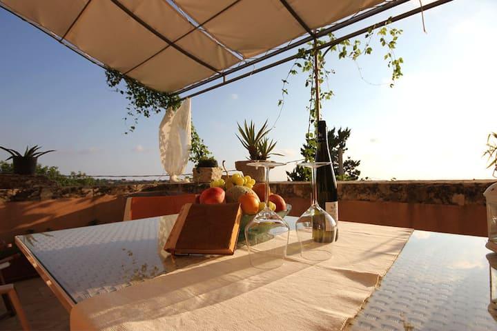 """""""Villa le Tortore"""", in the Sicilian hills!"""