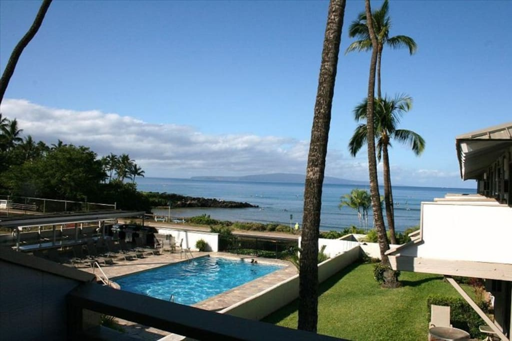 Yes, this is the view from lanai