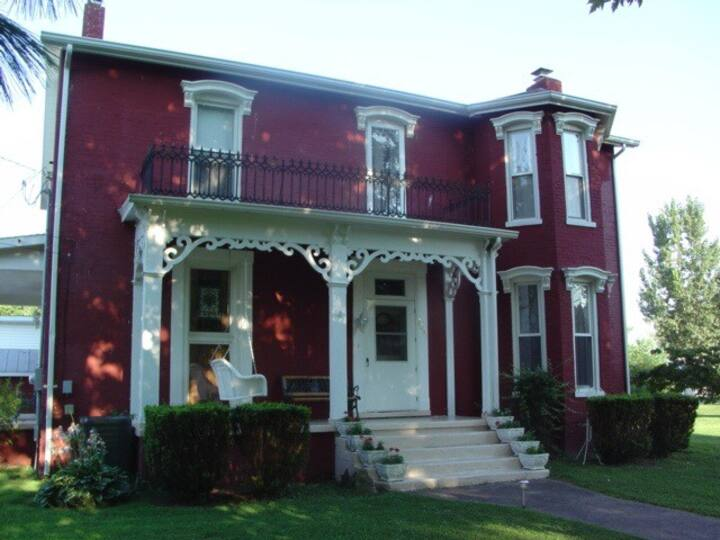 Updated Victorian in small town Kentucky.