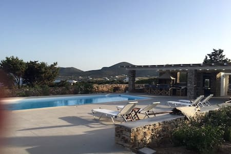Antiparos Villa INO -  POOL plus 200m from beach