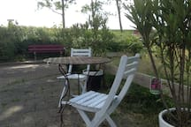 Zonsondergang zitje