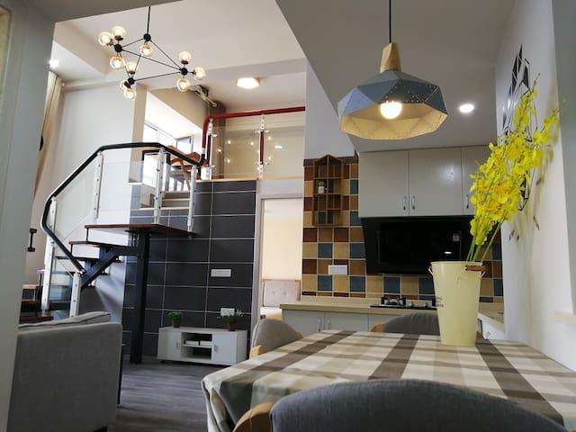 【云舒精品】整套房源 丽水高档小资loft公寓设施齐全交通便利