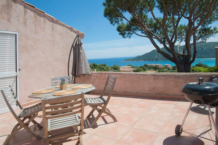 Mini-villa surplombant Santa-Giulia