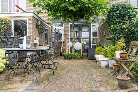 Sfeervol en ruim woonhuis vlakbij Utrecht - Utrecht - Rumah