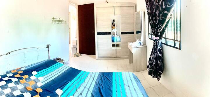 Room2 Private Room Long Stay in Berapit 双人房 体验生活