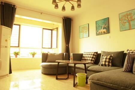 清辰家庭公寓温馨房临近古城公园,廉政广场,