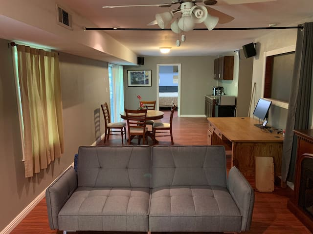 Furnished basement in the heart of Cary