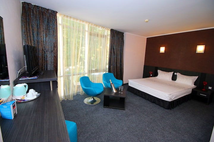 Lux Double Room - Hotel Noris *** Breakfast Inc