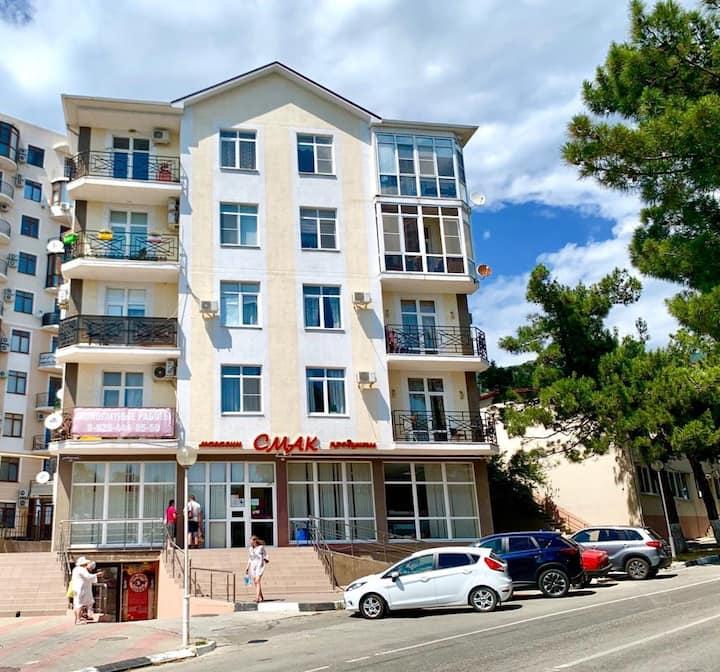 Сдается уютная 2х комнатная квартира по ул.Морской