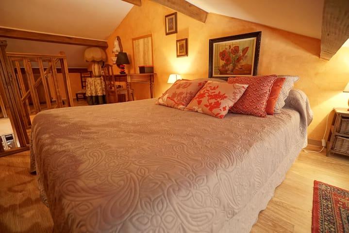 Chambre et salon privés