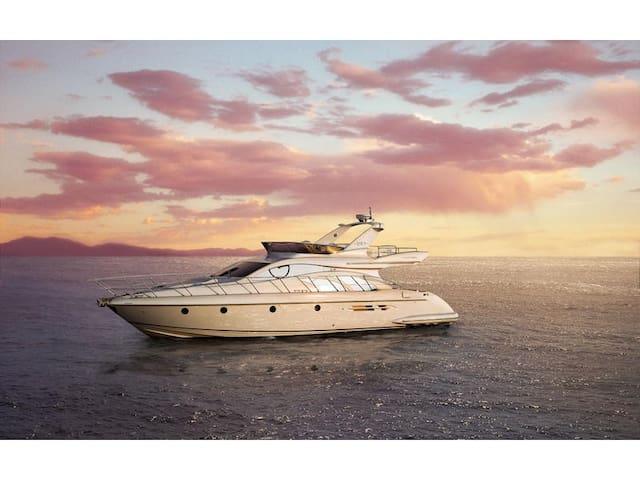 16m fly bridge yacht Azimut 50 - Slano - Boat