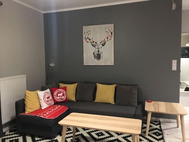Nowy apartament na Kaszubach - Kościerzyna  - Appartement