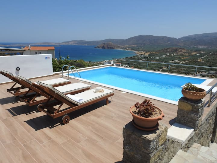 Villa Aiolos - swim & spa (private pool & jacuzzi)