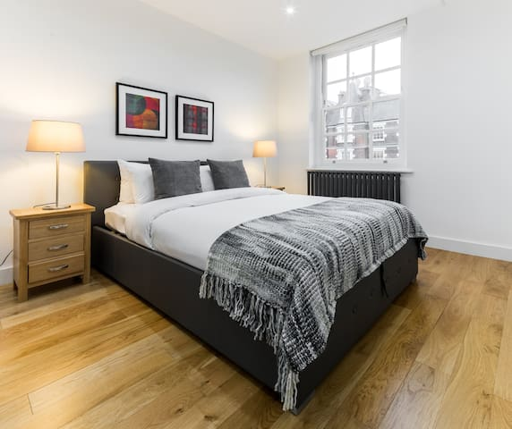 Two spacious double bedrooms...