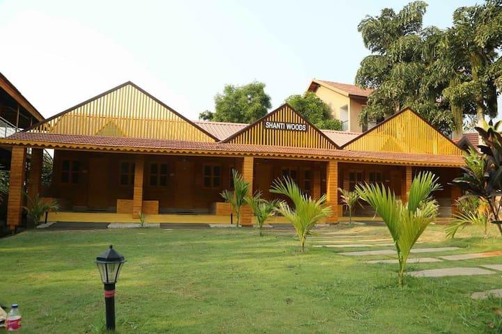 Wooden Cottage at Ankit Vista Resort