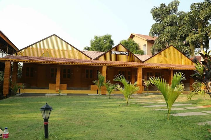 Wooden Cottage at Ankit Vista Resort