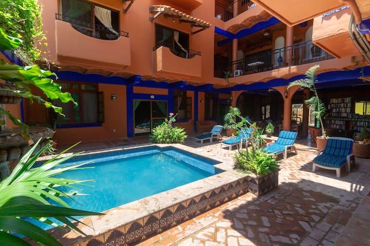 Villa para 3 - (1Bed Apart with Balcony)