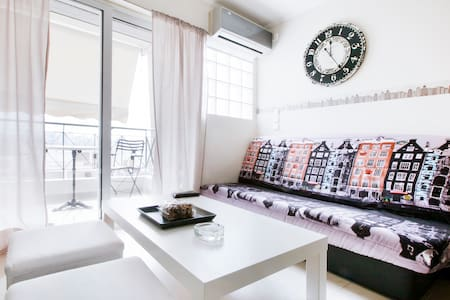 Sunny cozy apartment in Acropolis area great view - Athina - Byt