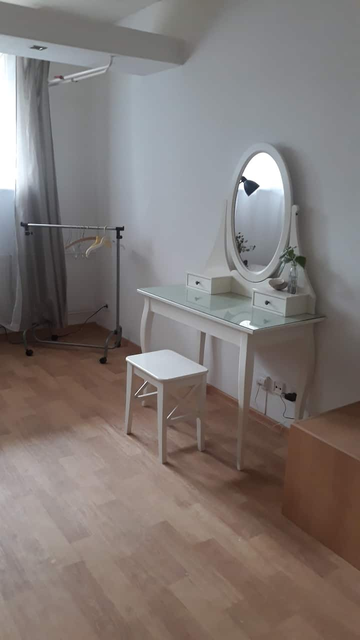 Beautiful doubleroom near to Prague´s forest