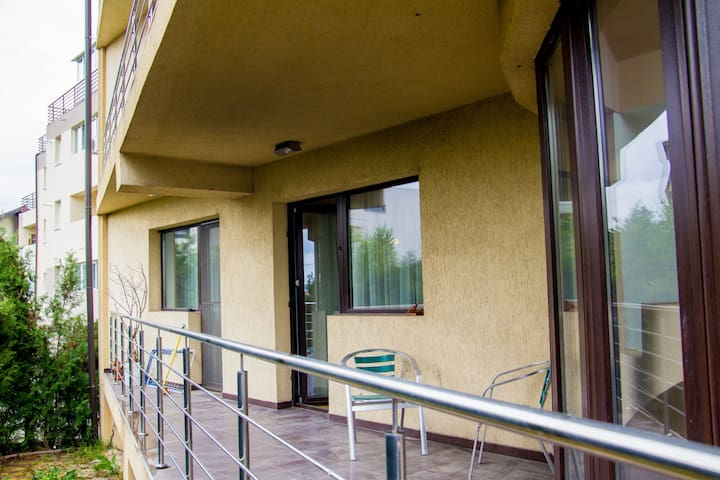 Big apartment with balcony and parking 2