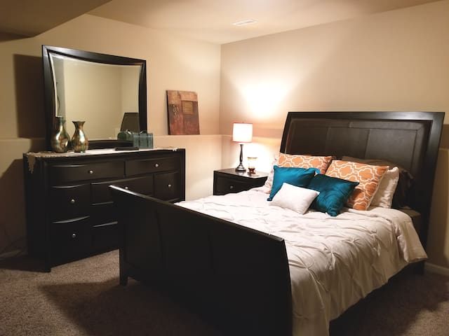 Inviting Lower Level Master Guest Suite in Hobart