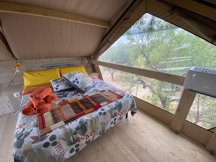 """Panoramic Glamping Tent """"Zagara"""", LuxuryNature"""