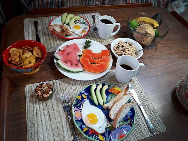 Desayuno delicioso!
