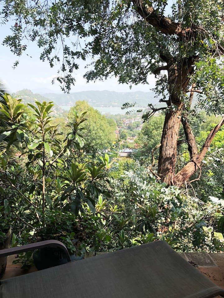 B&B Casa Corazon Valle De Bravo vista a la presa!