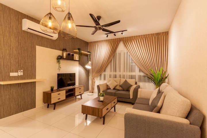 Tastefully Designed 3BR @ Impiria Residensi Klang