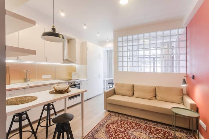 Уютная квартира с функциональной планировкой