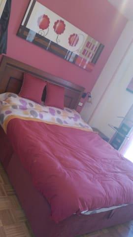 Habitación con cama doble en Leganés - Leganés - Dom