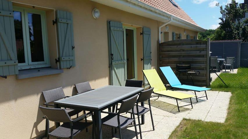 Maison 2 chb à 10min de la plage - Nesles - Casa