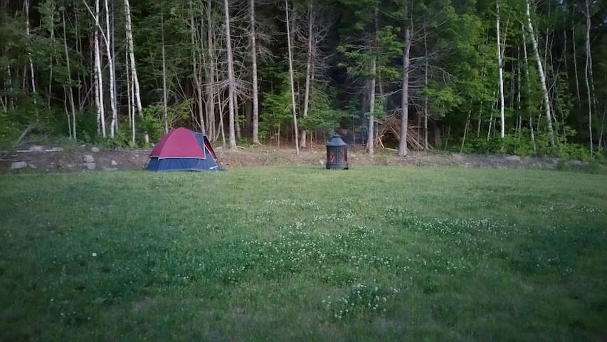 Camping with optional tent rental - WIFI, Shower - Fredericton - Tent