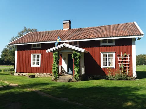 Holiday house in the Swedish countryside