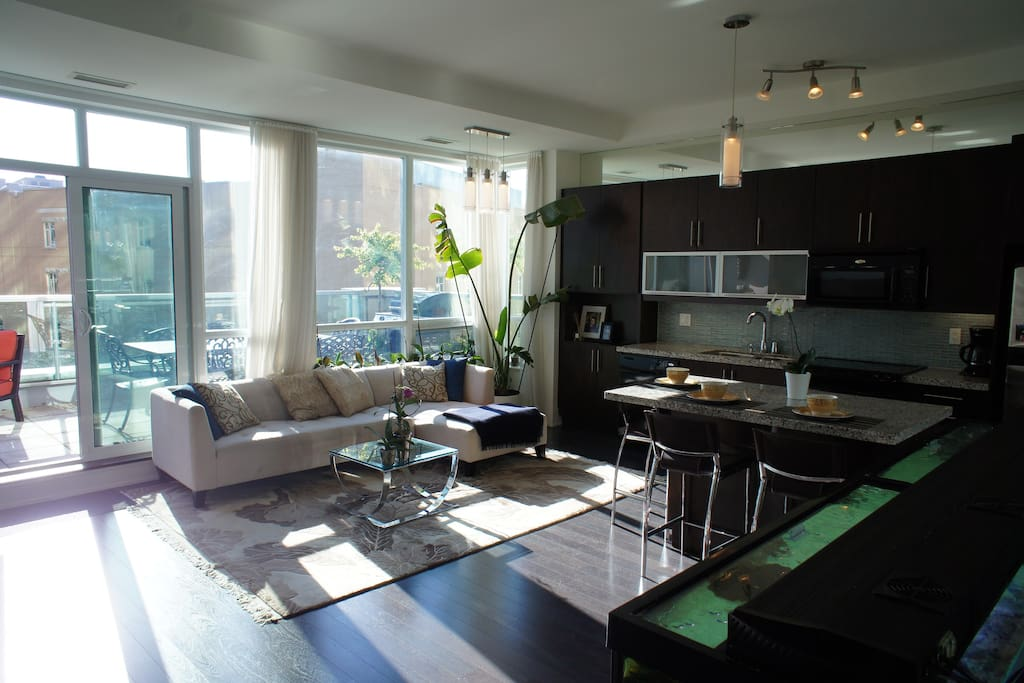 Downtown Toronto Loft - Apartments for Rent in Toronto ...