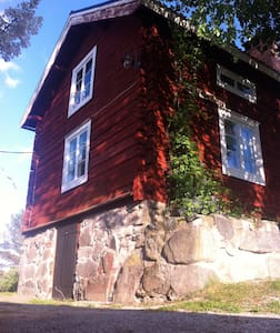 Countryside log home