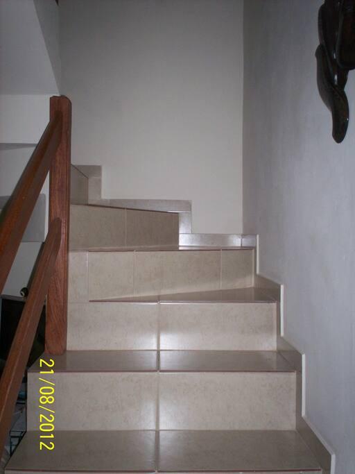 Escada para  quarto.