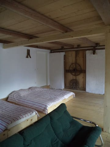 Large Dormitory in Renovated Old Barn