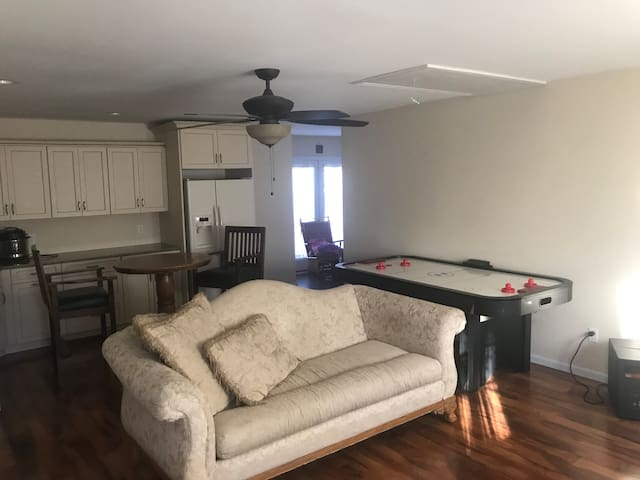 Large apartment area with lots of space!
