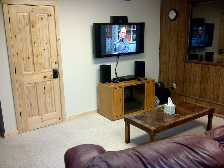 PS2 and HDTV in Rec Room