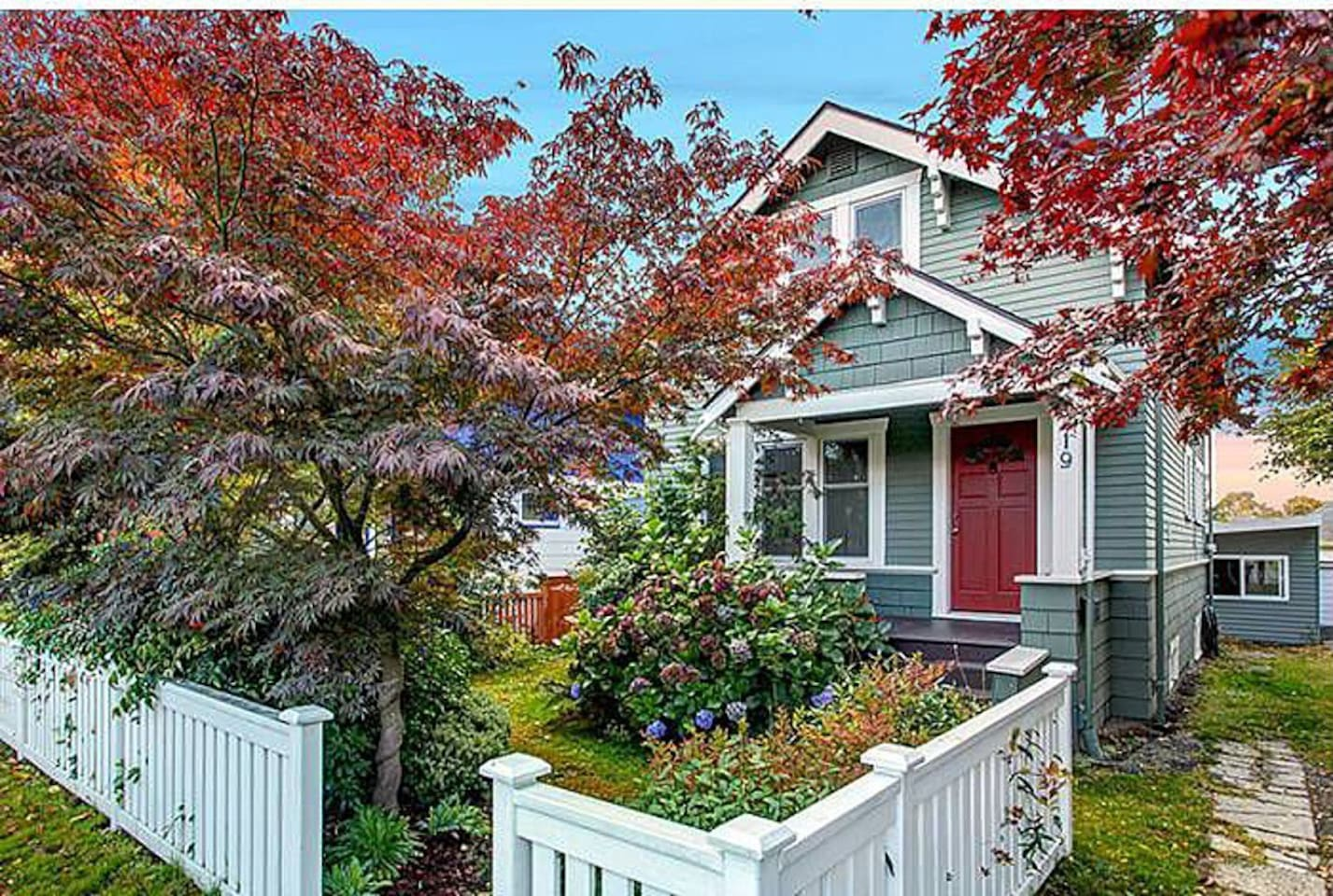 Charming craftsman built in 1922 with modern upgrades.
