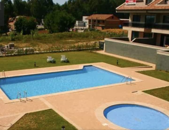 Casa para 8 con piscina en Sanxenxo