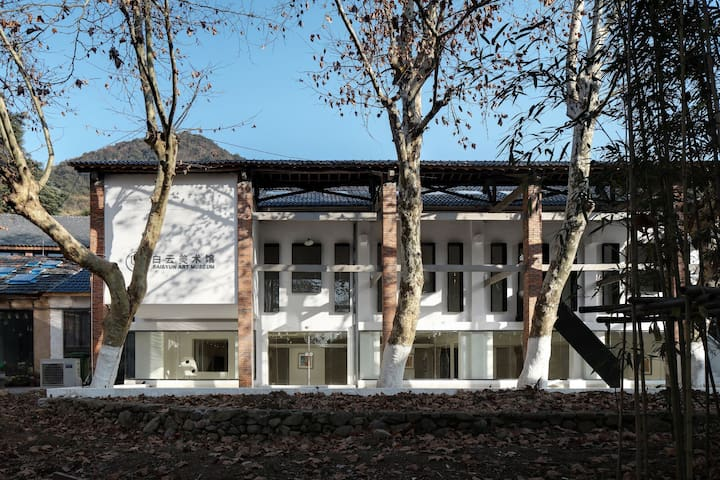 白云美术馆(莫干山)/可以住的美术馆/LOFT复式套房/C01