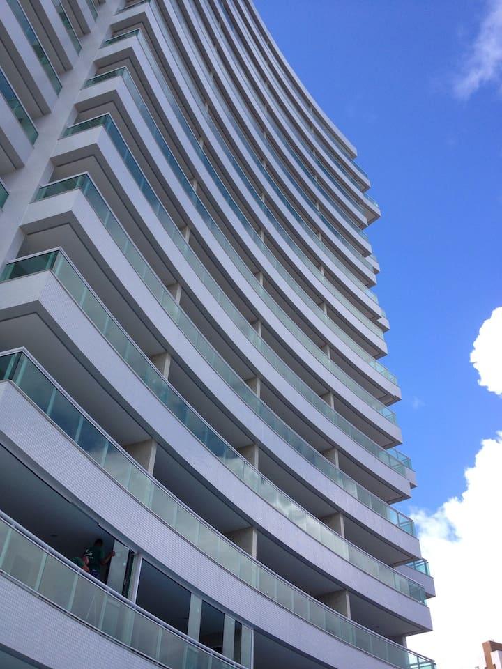Fachada do Edificio - front of the building