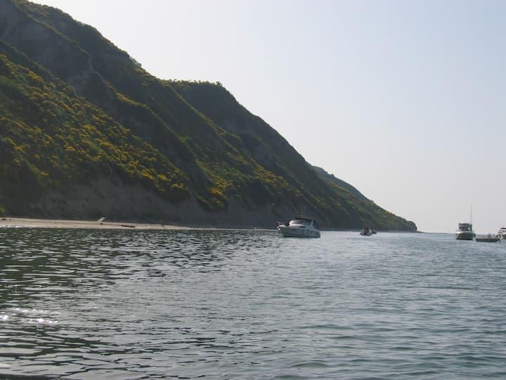 Bilocale zona centro vicino al mare