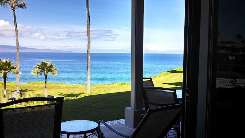 Kapalua Bay Villas 23g2 -Direct Oceanfront 1br/1ba - Lahaina - Apartment