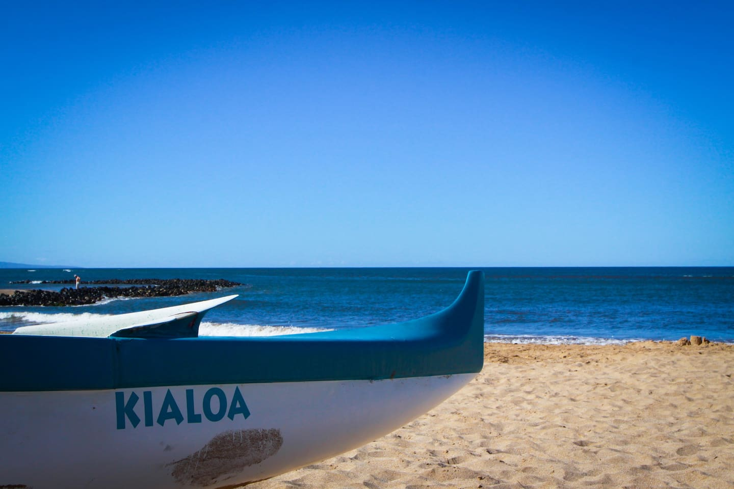 Kalepolepo Beach Park is a historically significant Hawaiian fishpond with a quiet beach. It is just steps away from your bungalow