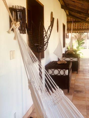 Luxury villa on the beach near Fortaleza