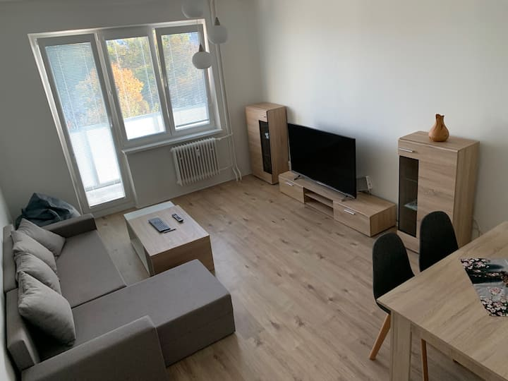 All you need is here/Aparment in Bratislava